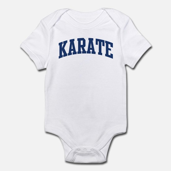 Karate (blue curve) Infant Bodysuit