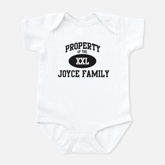 Property of Joyce Family Infant Bodysuit