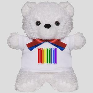 Wellington New Zealand Gay Pride Rainbow Skyline T