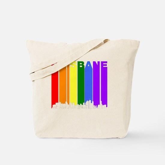 Brisbane Australia Gay Pride Rainbow Skyline Tote