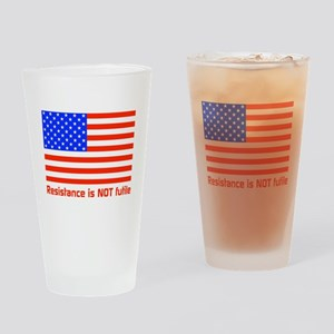 Resistance Drinking Glass