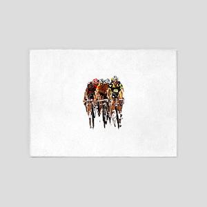 Tour de France 5'x7'Area Rug