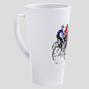 Tour de France 17 oz Latte Mug
