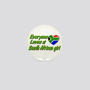 Everyone loves a South African girl Mini Button