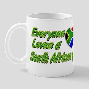 Everyone loves a South African girl Mug