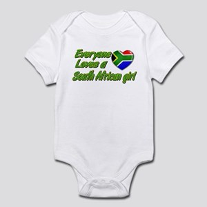 Everyone loves a South African girl Infant Bodysui