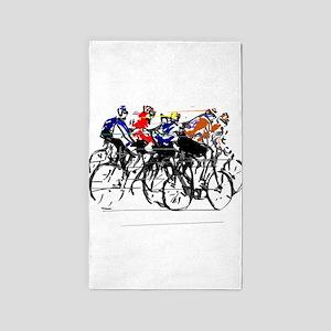Tour de France Area Rug