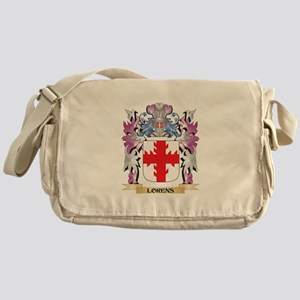Lorens Coat of Arms - Family Crest Messenger Bag