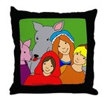 And They Lived Happily Ever After Throw Pillow