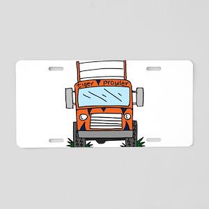 Tiger Prowler Bus Aluminum License Plate