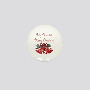 Spanish Christmas Mini Button