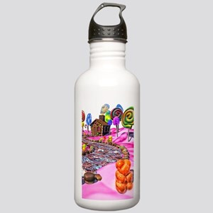 Pink Candyland Stainless Water Bottle 1.0L