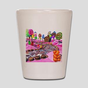 Pink Candyland Shot Glass