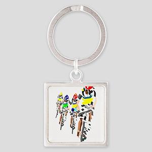 Cyclists Keychains