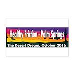 The Desert Dream in Palm Springs. Rectangle Car Ma