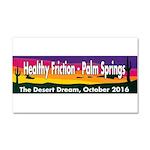The Desert Dream in Palm Springs. Car Magnet 20 x