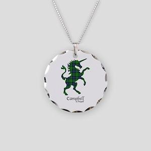 Unicorn-Campbell of Argyll Necklace Circle Charm