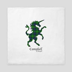 Unicorn-Campbell of Argyll Queen Duvet