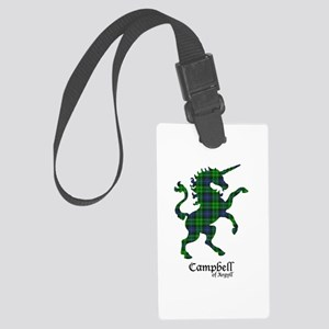 Unicorn-Campbell of Argyll Large Luggage Tag