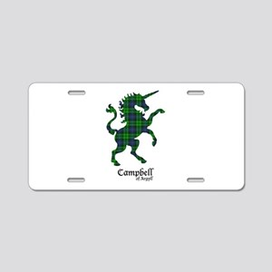Unicorn-Campbell of Argyll Aluminum License Plate