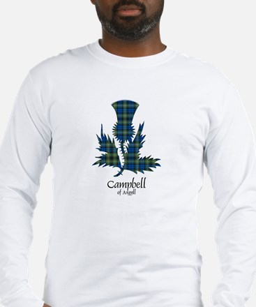 Thistle - Campbell of Argyll Long Sleeve T-Shirt