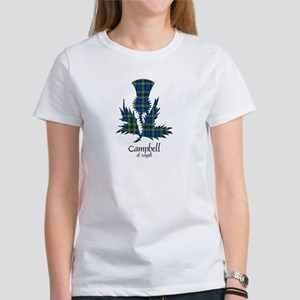 Thistle - Campbell of Argyll Women's T-Shirt