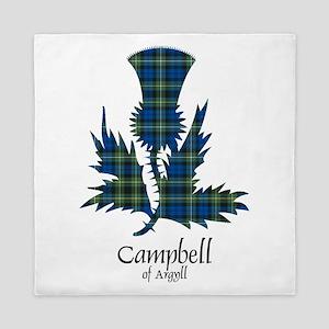 Thistle - Campbell of Argyll Queen Duvet