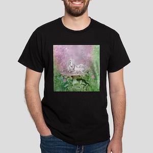 Wonderful unicorn with foal on a mushroom T-Shirt