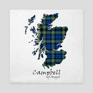 Map - Campbell of Argyll Queen Duvet