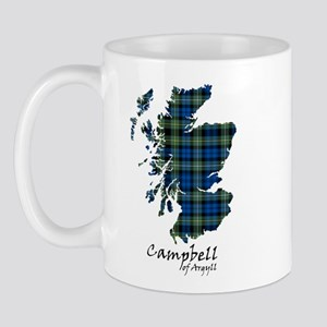 Map - Campbell of Argyll Mug