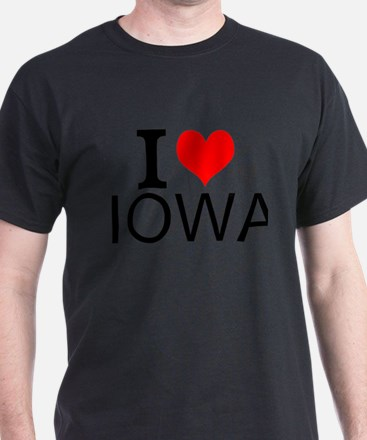 I Love Iowa T-Shirt