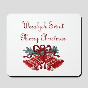 Polish Christmas Mousepad