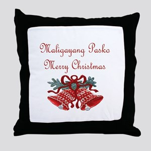 Filipino Christmas Throw Pillow