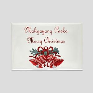 Filipino Christmas Rectangle Magnet