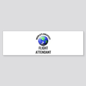 World's Greatest FLIGHT ATTENDANT Bumper Sticker
