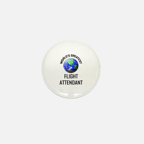 World's Greatest FLIGHT ATTENDANT Mini Button