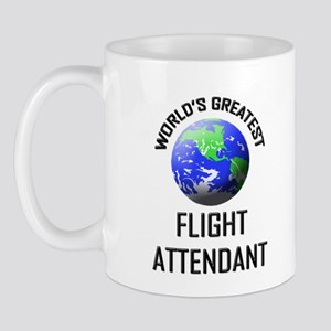 World's Greatest FLIGHT ATTENDANT Mug