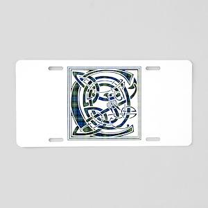 Monogram - Campbell of Argyll Aluminum License Pla