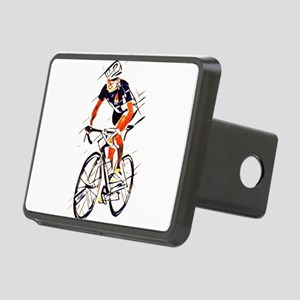 cyclist Rectangular Hitch Cover