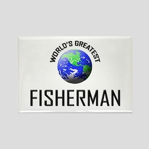 World's Greatest FISHERMAN Rectangle Magnet