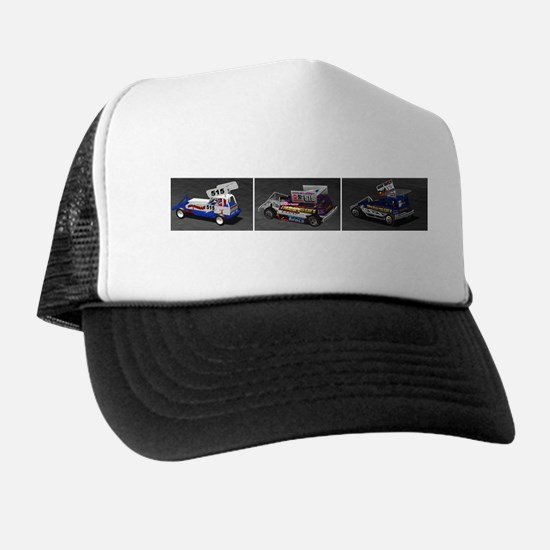 BriSCA Wainman Heat Cars Trucker Hat