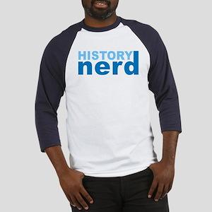 History Nerd Baseball Jersey