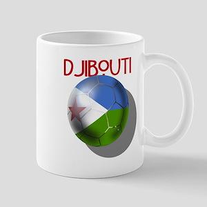 Djibouti Soccer Mug