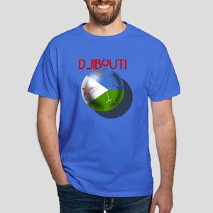 Djibouti Soccer Dark T-Shirt