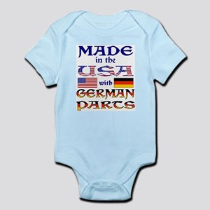 Made USA With German Parts Body Suit