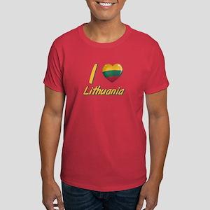 I love Lithuania Dark T-Shirt