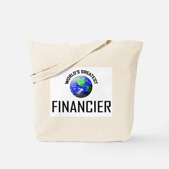 World's Greatest FINANCIER Tote Bag