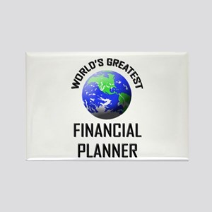 World's Greatest FINANCIAL PLANNER Rectangle Magne