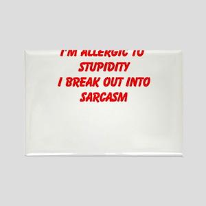 Sarcasm T-Shirts Magnets