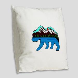 SPIRIT Burlap Throw Pillow